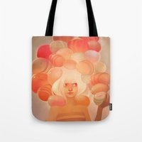 loish Tote Bags featuring Glow by loish