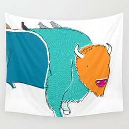 Bristol Bison Wall Tapestry