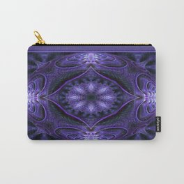 Kaleidoscope No.40 - Purple Pizzazz Carry-All Pouch