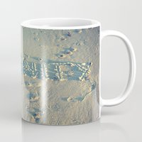 serenity Mugs featuring Serenity by Brianne Lanigan