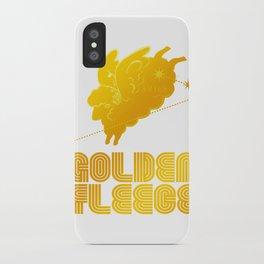 ARIES/GOLDEN FLEECE LOGO iPhone Case