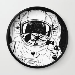 Major Tom Wall Clock