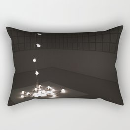 MoMA Lightbulb Exhibit Rectangular Pillow