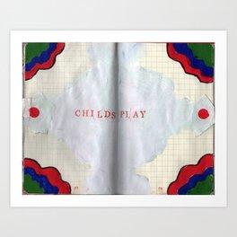 Childsplay Art Print