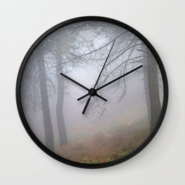 """""""Dream forest"""". Living in a dream... Wall Clock"""