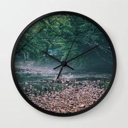just breathe #3 Wall Clock