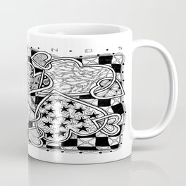 Zentangle Friends Come in All Sizes and Shapes Coffee Mug