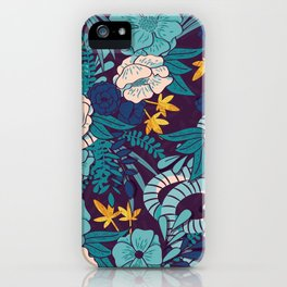 Jungle Pattern 003 iPhone Case