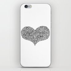All I need - Lyrics doodle iPhone & iPod Skin