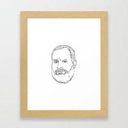 Tom Segura Framed Art Print