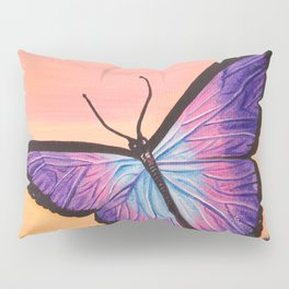 L'amour est un papillon Pillow Sham