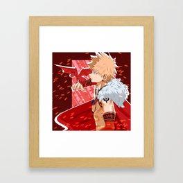 Dragon Kirishima Barbarian Bakugou Framed Art Print