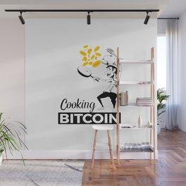 Cooking Bitcoin Wall Mural