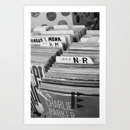 In the Vinyl Side B Art Print