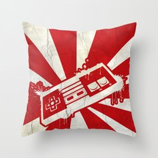 NES CONTROLLER Throw Pillow