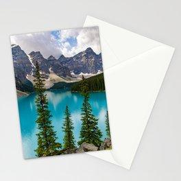 Lake Moraine - Banff, Alberta Stationery Cards