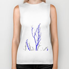 TWILIGHT WINTER TREE BRANCHES Biker Tank