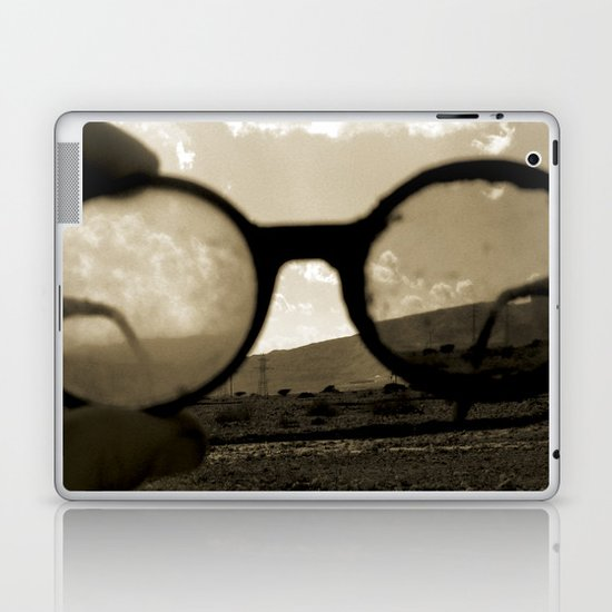 Glasses on the Horizon Laptop & iPad Skin