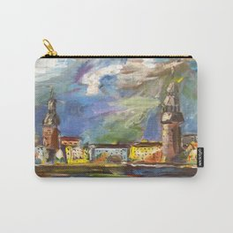 Stormy, Stormy Night ... In Rīga, Latvia Carry-All Pouch