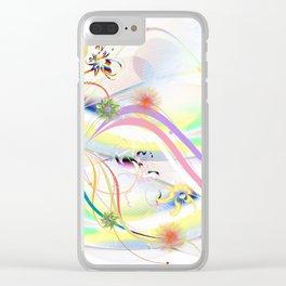 Abstrakt - Frühling 1 Clear iPhone Case