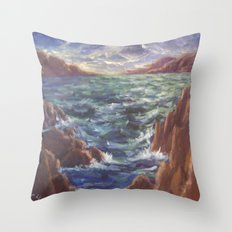 Lighthouse in the Distance AC150426 Throw Pillow