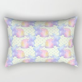 Rabbit Easter Rectangular Pillow