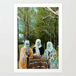 Halloween#1 Art Print