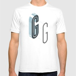 The Exploded Alphabet / G T-shirt