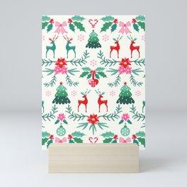 Scandinavian Christmas Mini Art Print