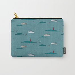 Lobstering in the Harbor Carry-All Pouch