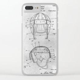 Football Helmet Clear iPhone Case