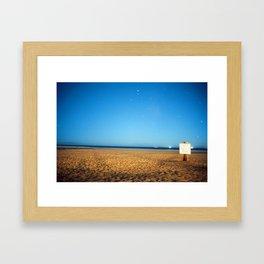 2am @ the beach Framed Art Print