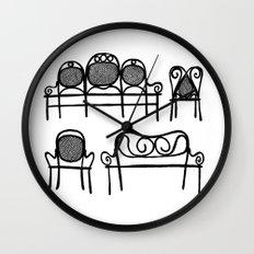 Tonet chairs Wall Clock