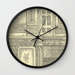 Architectural Elements Wall Clock