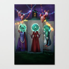 Haunted Carnival by Topher Adam 2017 Canvas Print