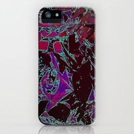 Burgundy iPhone Case
