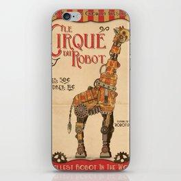 Robot Circus - Giraffe iPhone Skin