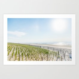 At the Jersey Shore Art Print