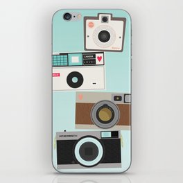 Retro Camera Print  iPhone Skin