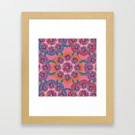Mandala Circus Framed Art Print