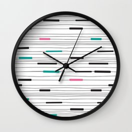 Simple paths Wall Clock