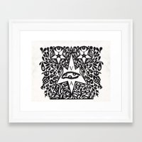 occult Framed Art Prints featuring Occult  by Maelstrm