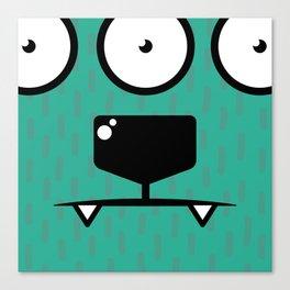 Monsters⁴ : Blue Canvas Print