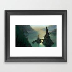 The Hidden Isle Framed Art Print