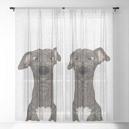 Brindle Iggy Sheer Curtain