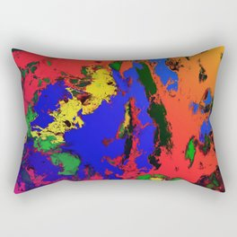 External influences Rectangular Pillow