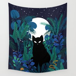 mystical cat Wall Tapestry