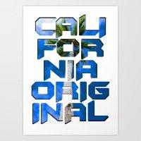 California Original Art Print
