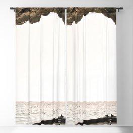 Algarve Beach Coast Blackout Curtain