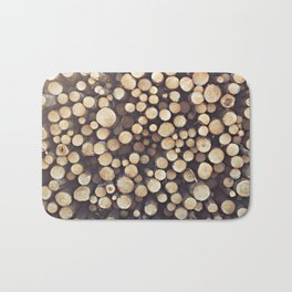 If I wood, wood you? Bath Mat